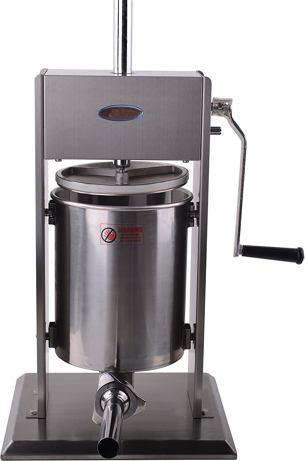 Hakka 22 Lb 10 L Sausage Stainless Vertica famous Speed Steel Stuffer 2 Selling and selling