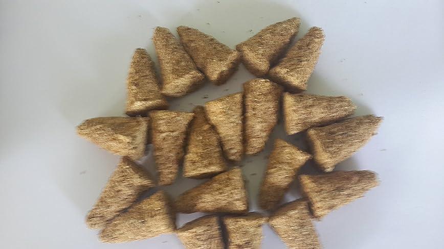 適応的渦道Palo Santo Incense Cones 80個サイズバッグ