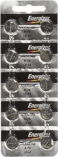 Energizer LR44 1.5V Button Cell Battery 10 pack (Replaces: LR44, CR44, SR44, 357, SR44W, AG13, G13, A76, A-76, PX76, 675, 1166a, LR44H, V13GA, GP76A, L1154, RW82B, EPX76, SR44SW, 303, SR44, S303, S357, SP303, SR44SW)