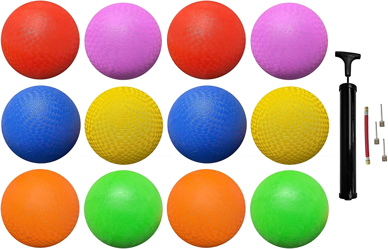 Biggz Rubber Our shop most popular Kick Balls 8.5 Houston Mall inch and Playground Kids for A