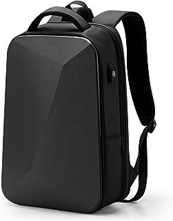 Mochila ligera para portátil de 35 litros, con candado antirrobo, resistente al agua, con puerto de carga USB, para trabajo, escuela, viajes, color negro