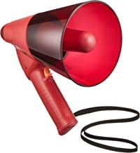 TOA 小型防滴メガホン 6W 赤色 サイレン音付 ER-1106S