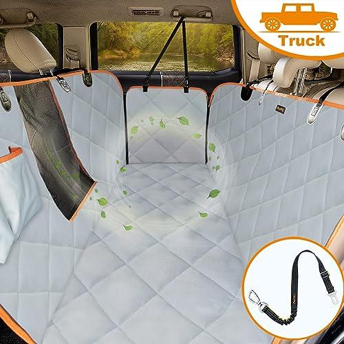 iBuddy Dog Car Seat Covers Hammock - Best Dog Hammocks for Trucks