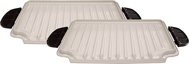 George Foreman Evolve Grill System Ceramic Grill Plates, GFP84PX