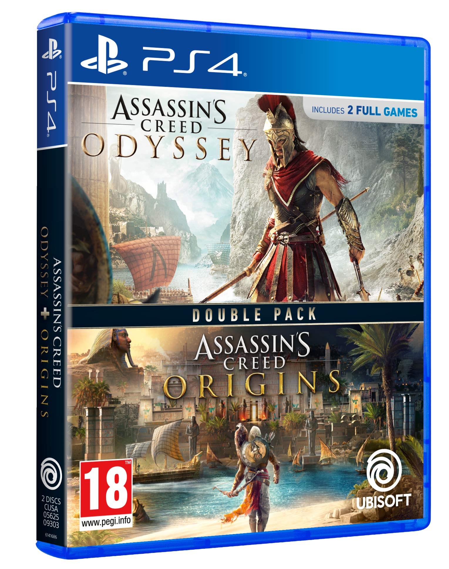Double Pack: Assassins Creed Odyssey + Assassins Creed Origins ...