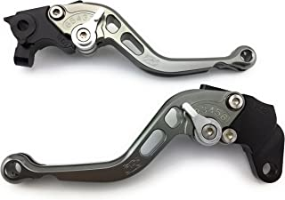 Compatible APRILIA #9 Noir bleu Paire leviers moto racing Flip Up ajustable repliable RSV MILLE R 1999-2003 TUONO 1000 R 2003-2009 CAPONORD 1200//Rally 2014-2017 DORSODURO 1200 2011-2016 FALCO SL1000 2