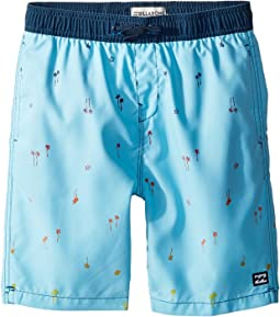Sundays Layback Boardshorts (Big Kids)