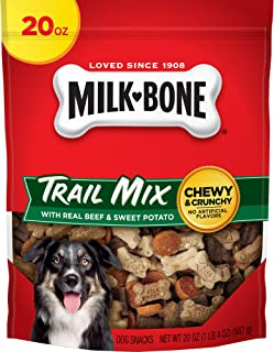 Milk-Bone Trail Mix Chewy and Crunchy Dog Treats, Beef & Sweet Potato