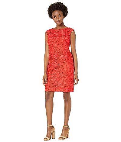 LAUREN Ralph Lauren Petite Cithya Dress (Summer Poppy) Women