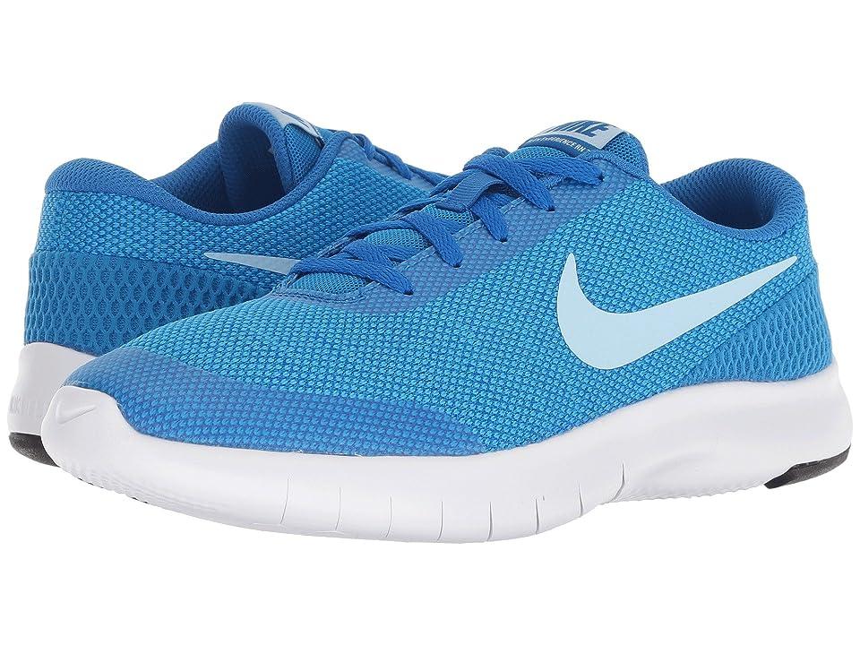 Nike Kids Flex Experience Run 7 (Big Kid) (Cobalt Blaze/Cobalt Tint/Blue Hero/White) Girls Shoes