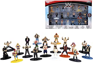 "WWE 1.65"" Die-cast Metal Collectible Figures 20-pack Wave 2, toys for kids and adults"
