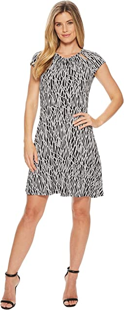 MICHAEL Michael Kors Twisted Rope Neck Dress