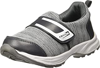 Liberty Force 10 D2-42-Grey Kids Sports Non Lacing