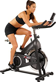 EFITMENT Indoor Cycle Bike, Silent Belt Drive Cycling Exercise Bike, Felt Resistance, 40 lb Flywheel, LCD Monitor, 300 LB Max Weight - IC014