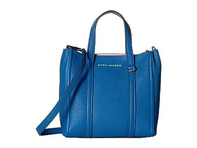 Marc Jacobs Mini Tag Tote (Evening Blue) Handbags