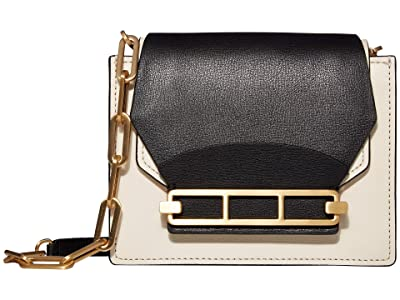 ZAC Zac Posen Katie Chain Crossbody Color Block (Black) Handbags