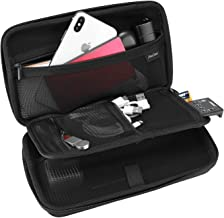 ProCase Hard Travel Tech Organizer Case Bag for Electronics Accessories Charger Cord Portable External Hard Drive USB Cabl...
