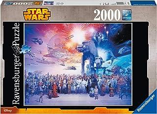 Ravensburger - 16701 - Puzzle Classique - Saga Star Wars - 2000 Pièces