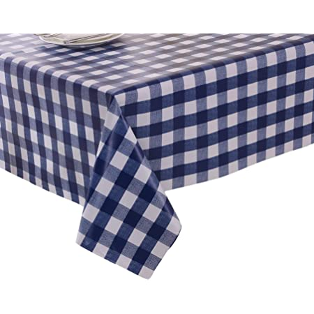 Linentablecloth 108 IN Round Polyester nappes 32 Couleurs! environ 274.32 cm