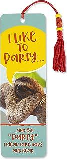I Like to Party Beaded Bookmark