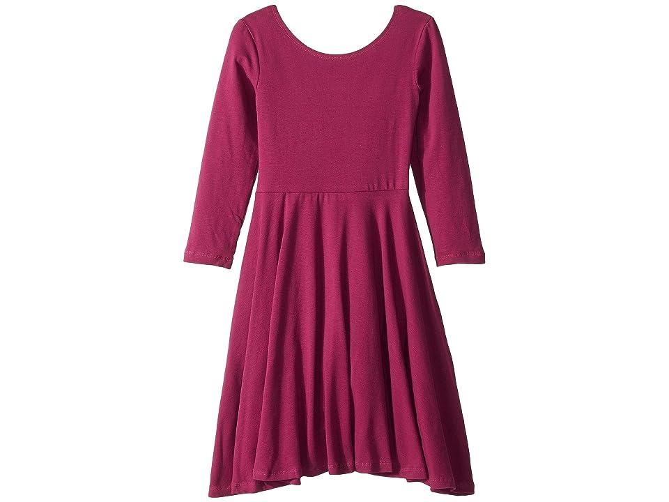 fiveloaves twofish Ballerina Skater Dress (Big Kids) (Magenta) Girl