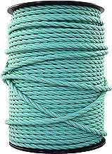 3 x 0.75mm/² Grigio Oscuro smartect Cavo elettrico Tessuto Tripolare - Cavo elettrico rivestito per Fai da Te 1 Metro cavo tessile intessuto