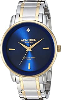 Armitron Men's Diamond-Accented Bracelet Watch