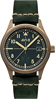 Flyboy Mens Analog Japanese Automatic Watch with Bracelet AV-4071-03