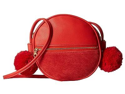 ban.do Sidekick Crossbody Circle Bag (Punch) Handbags