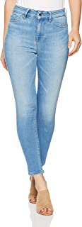 TOMMY HILFIGER Women's High Rise Cropped Extra Slim Fit Jeans