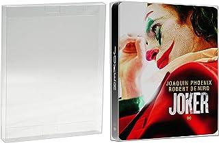 Malko Blu-ray Steelbook Protector Case - Acid Free Plastic Protective Sleeve (10 Pack)