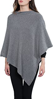 Kemailù - Moon Poncho in Misto Cashmere - Donna