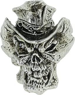 Jig Pro Shop Vinnie Garoon Cowboy Skull Paracord/Lanyard Bead by Schmuckatelli Co.