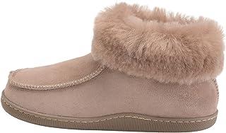 e83ea90985e65 Vogar Femmes Luxe Peau De Mouton Pantoufles Chaussons Chaussures avec  Double Chaud Laine Manchette W66