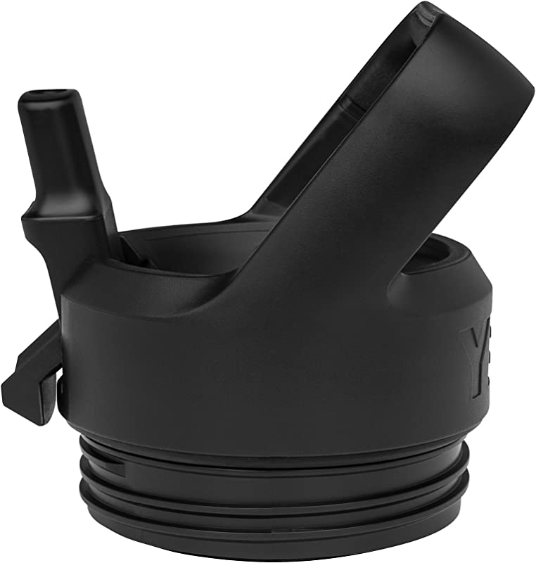 YETI 18050110000 Bottle Straw Cap Rambler 1 EA Black