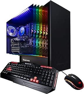 iBUYPOWER Enthusiast Gaming PC Computer Desktop ARCB 108A (AMD Ryzen 3 3200G 3.6GHz, NVIDIA Geforce GT 710 1GB, 8GB DDR4, 1TB HDD, WiFi & Windows 10) Black