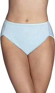 Vanity Fair Women's Illumination Hi Cut Panty 13108, Beachside Aqua, Medium (6)