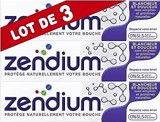 Zendium Dentifrice Blancheur Douceur, Mode d'action naturel antibactérien, Renforce..