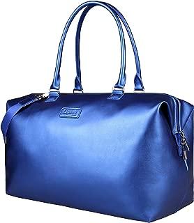 Lipault - Miss Plume Weekend Bag - Medium Top Handle Shoulder Overnight Travel Duffel Luggage for Women - Exotic Blue