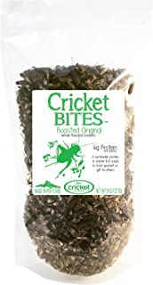 Roasted Crickets (1/2lb) Edible Insects Raised in North America and Made in Portland, Oregon (Resealable Pack)