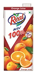 Real Activ Orange 1L - No Added Sugar