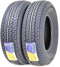 2 New Premium Trailer Tires ST 225/75R15 10PR Load Range E - 11122