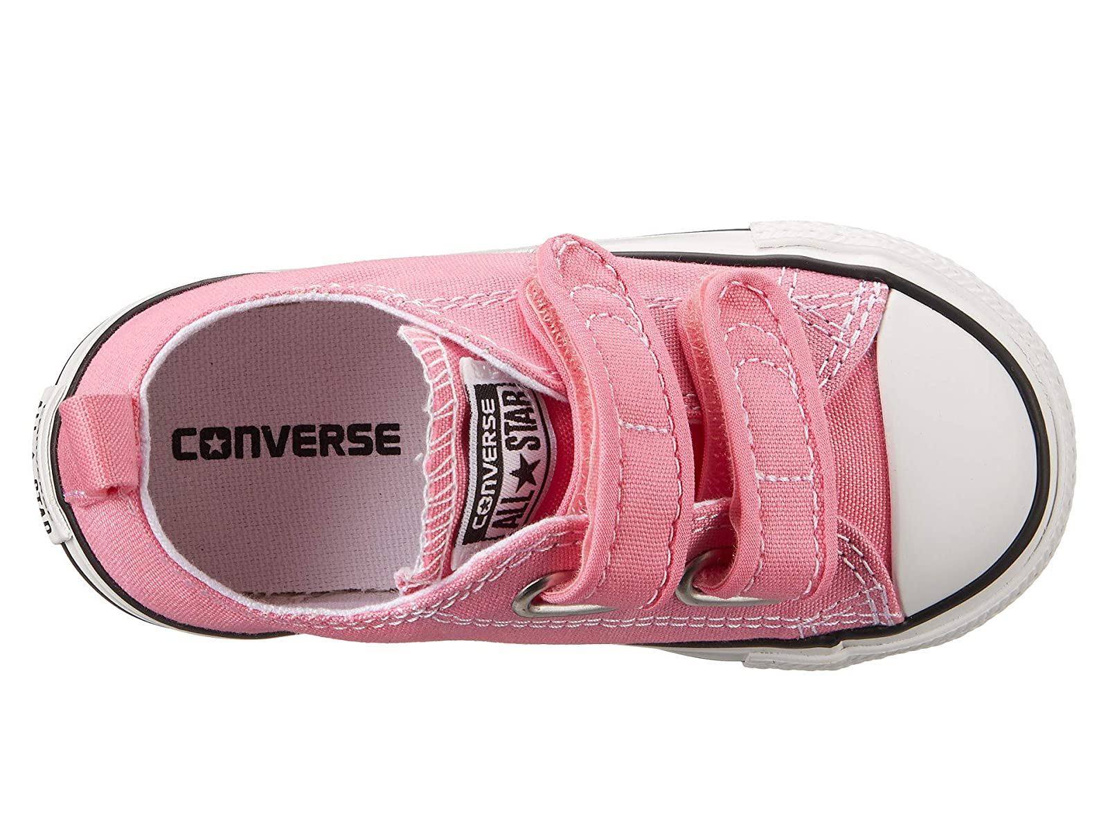 b2ee2303d8a5b Details about Girl's Shoes Converse Kids Chuck Taylor 2V Ox (Infant/Toddler)