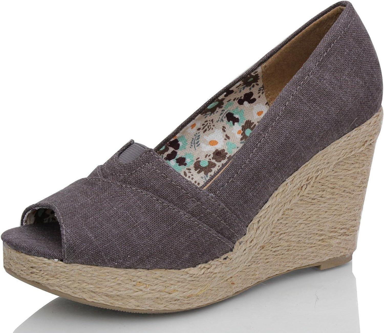 Soda Womens Yaha Fashion Wedge Sandals