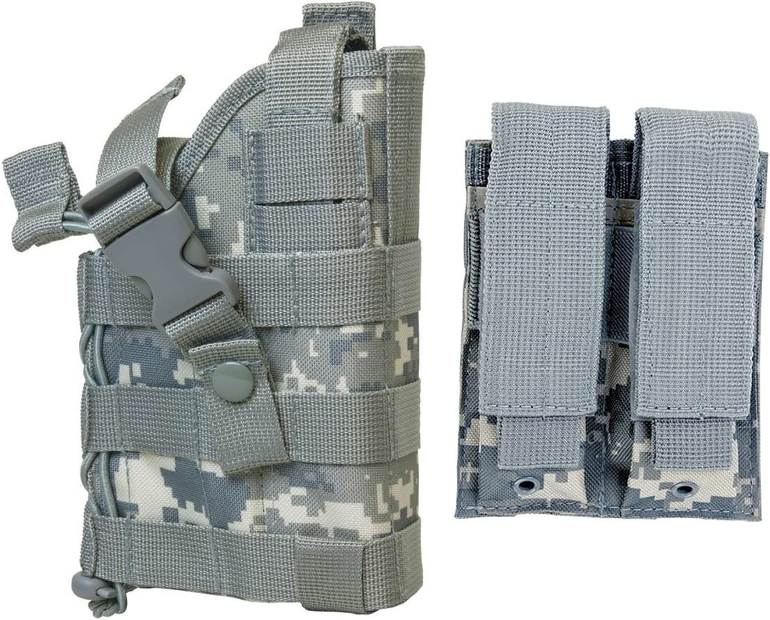 M1SURPLUS ACU Style Digital CamoTactical Holster MOLLE Detacha free 100% quality warranty w