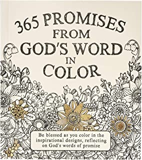 365 Promises From God's Word In Color: Scripture and Coloring Pages