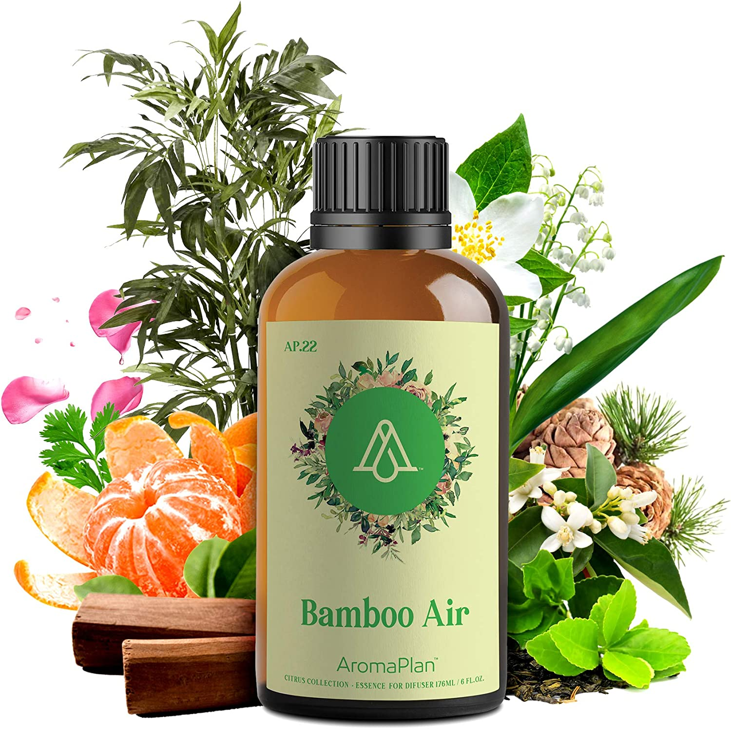 AROMAPLAN Aroma Oil for Scent Fort Worth Mall Bamboo Atlanta Mall Air - Natural Diffusers