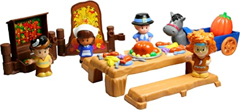 Fisher-Price Little People Thanksgiving Celebration - Pilgrims and Indian Friends