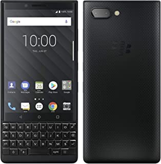 Blackberry KEYTWODS128GB4G Smartphone, 128 GB Dual SIM Black