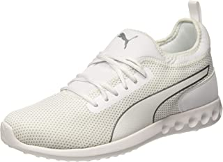 Puma Unisex's Concave V2 Idp White-Glacier Gray-s Running Shoes